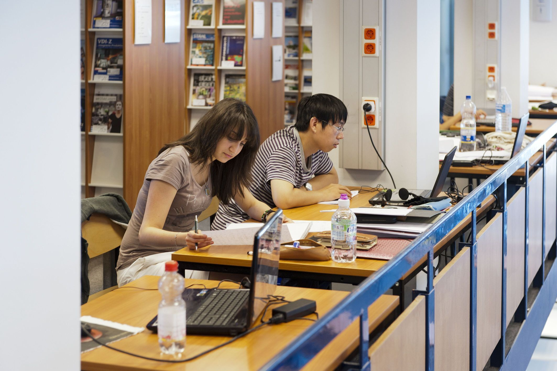 Study Room in the University Library