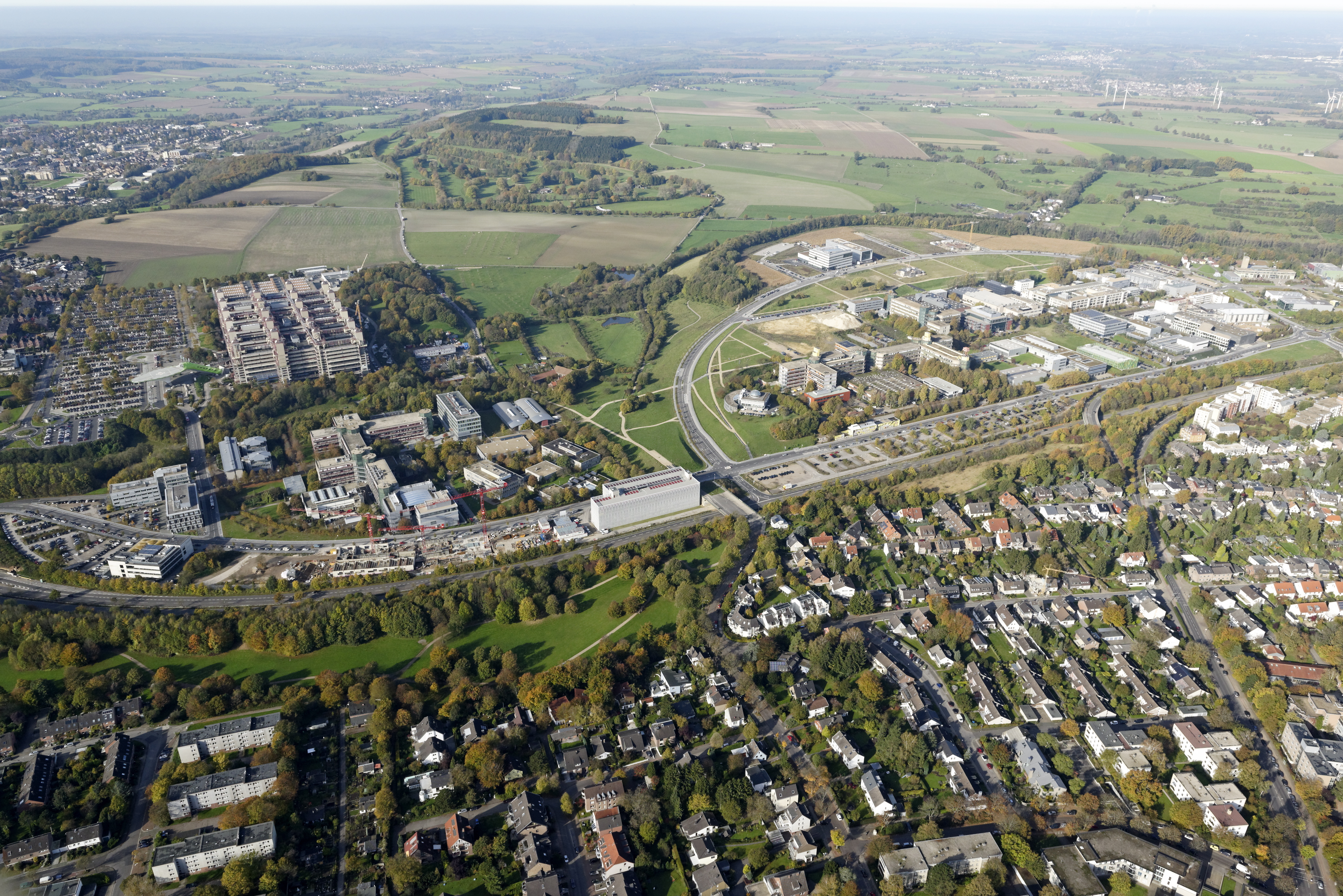 University Hospital Aachen and Campus Melaten