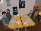 VR Classroom Group Table